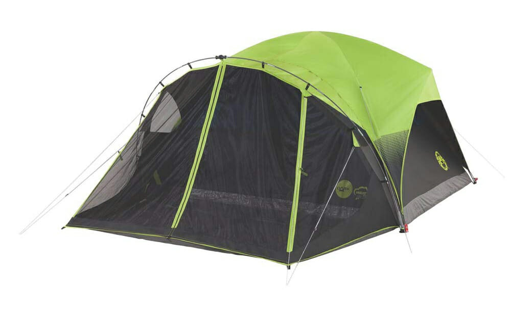 coleman blackout camping tent