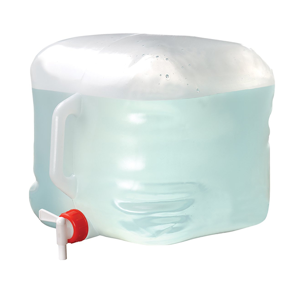 collapsible camping water container