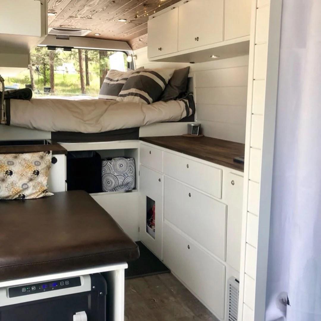 Converting dodge promaster camper