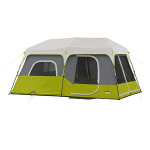 coleman large family camping tent