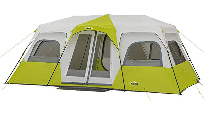 core 12 person extra large family camping tent