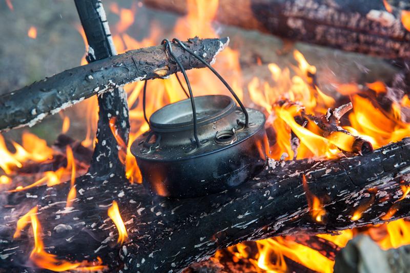 cowboy coffee camping recipe - 3 ways