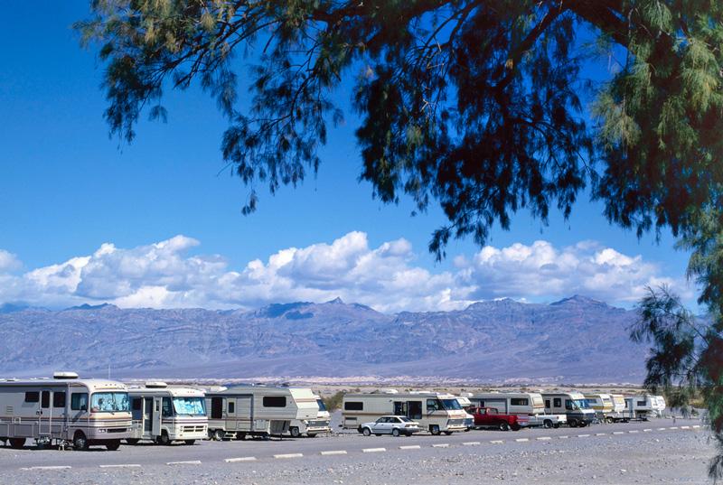 rv campground in death valley national park