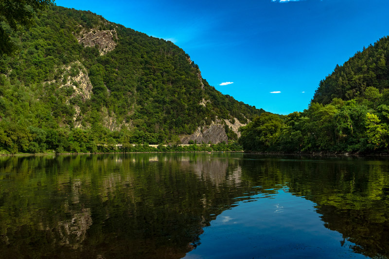 Delaware water gap in new jersey national park
