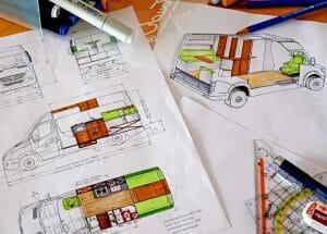 Designing A Diy Van Conversion Layout For Van Life