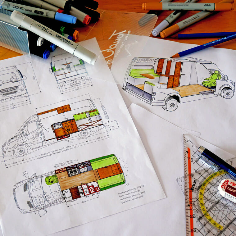 Designing A Diy Van Conversion Layout For Van Life