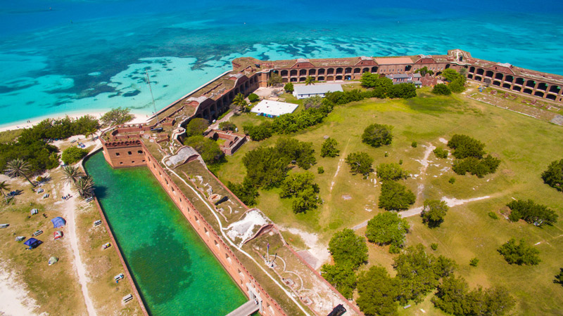 dry tortugas national park in florida
