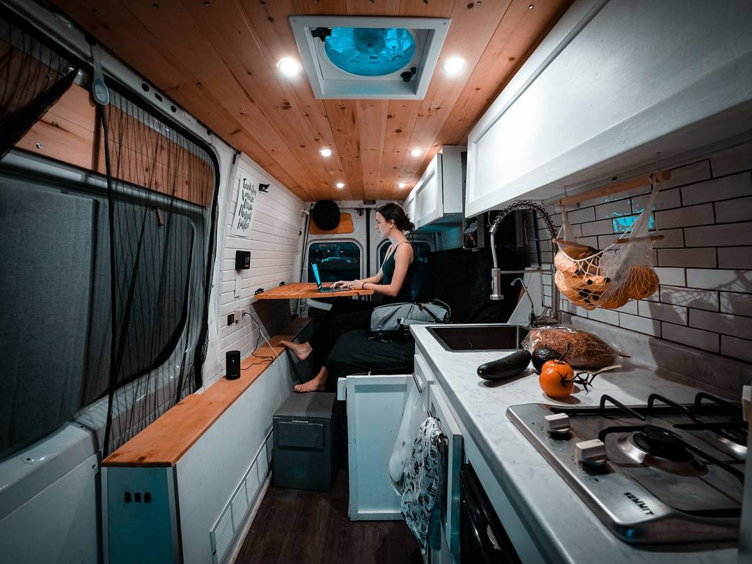 sprinter van conversion layout