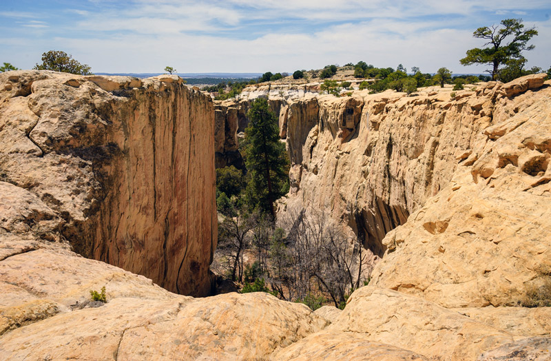 el morro national monument in new mexico