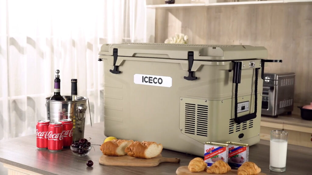using a 3-in-1 electric cooler as a backup refrigerator at home