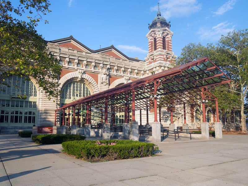 ellis island run by the national park service in new york
