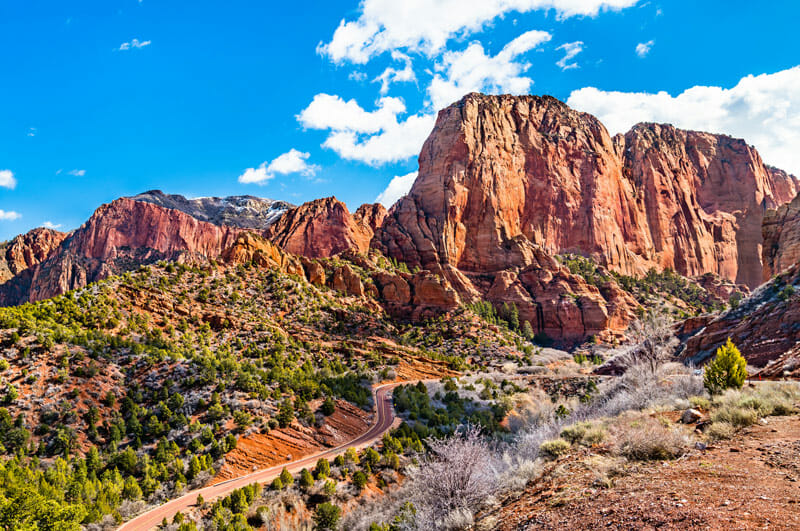 exploring kolob canyon