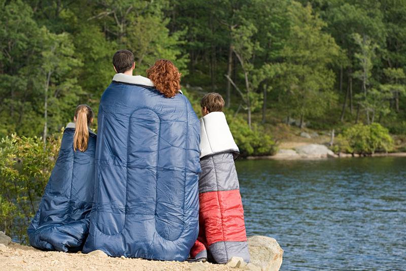 family camping sleeping bag