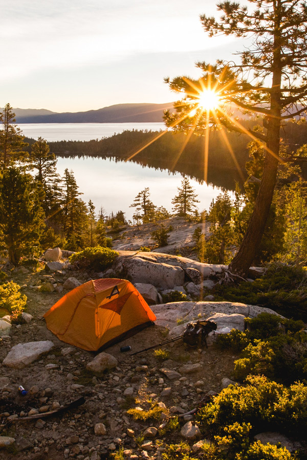 Free backgcountry camping in the USA