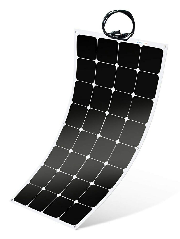 best flexible solar panel for an rv or campervan conversion