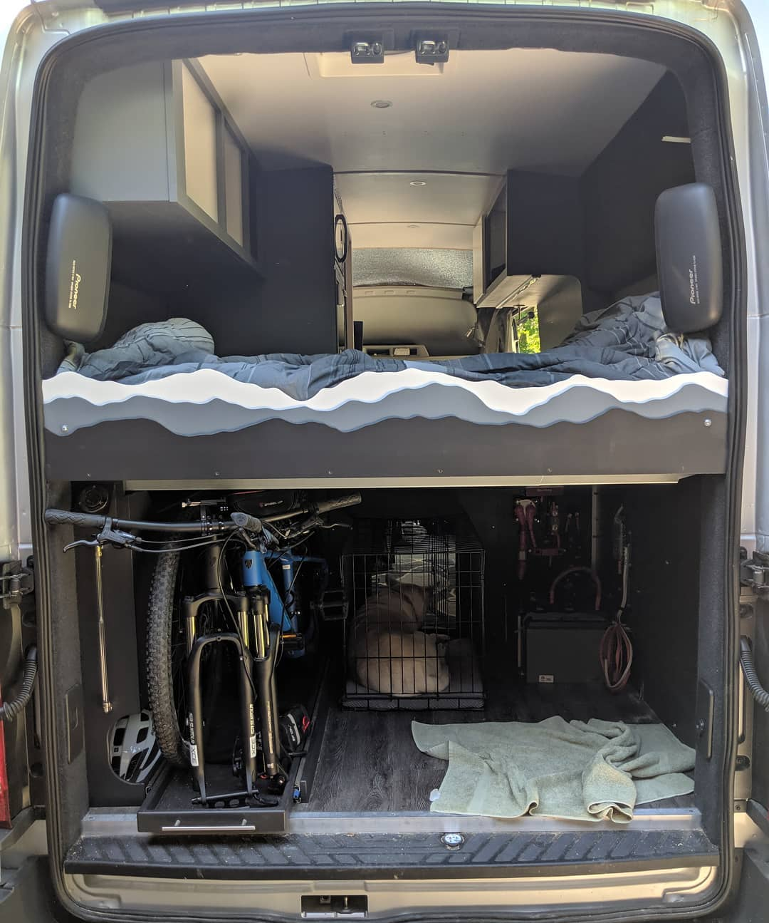 Ford transit diy conversion van