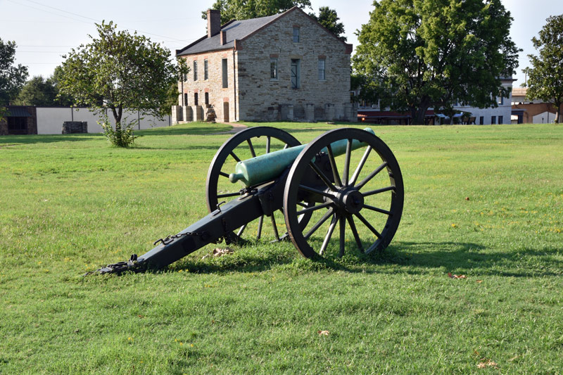 fort smith national historic park in oklahoma
