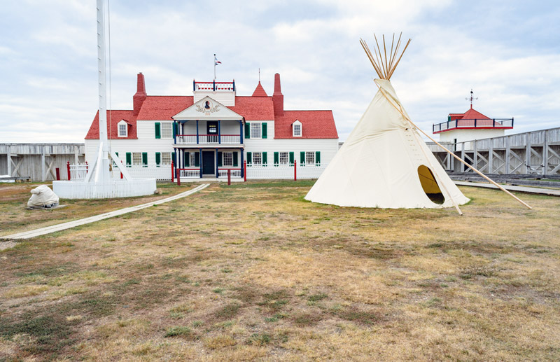 fort union national historic site and trading post in north dakota