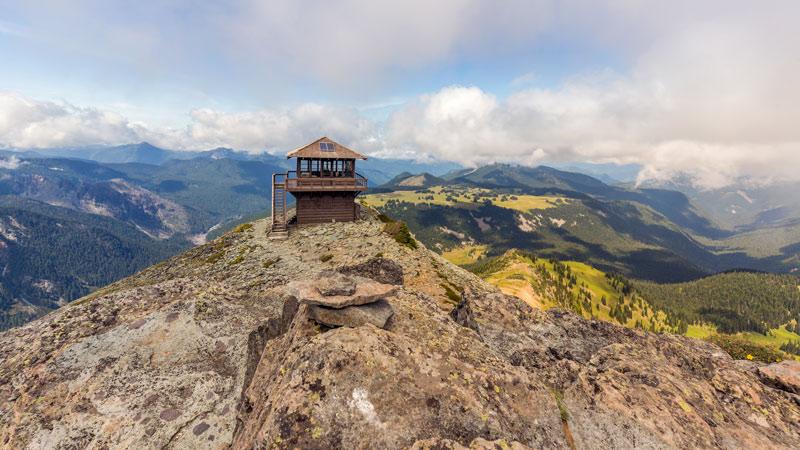 fremont lookout tower mount rainier national park