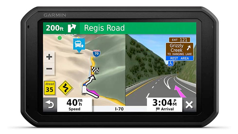 785 Garmin GPS With Dash Cam