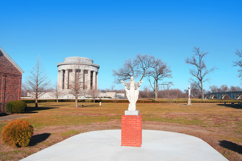Visiting the George Rogers Clark National Memorial in Indiana