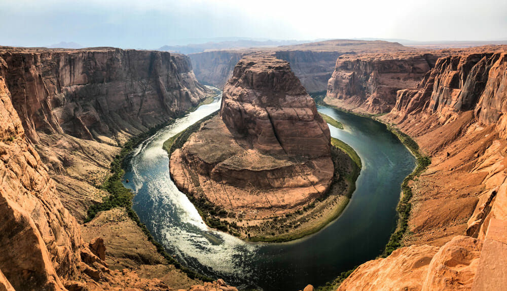 getting to horseshoe bend arizona