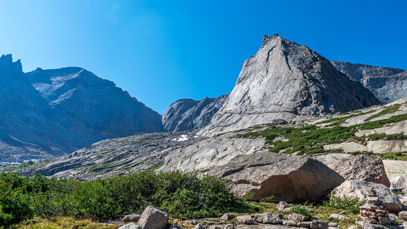 glacier gorge junction in rocky mountain national park