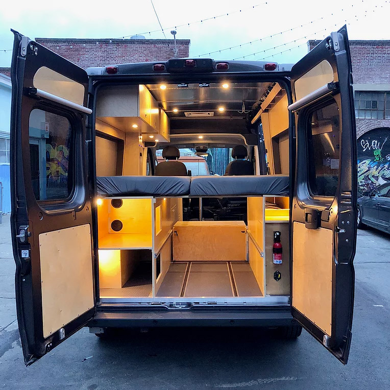 glampervan custom camper conversion and rentals