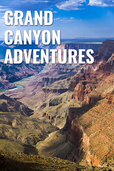 Traveling In The Grand Canyon National Park