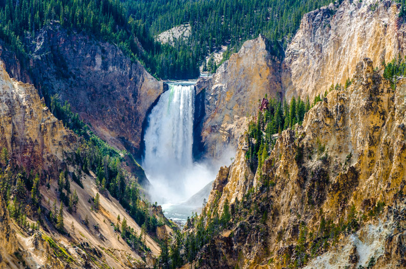 day hiking the grand canyon of the yellowstone