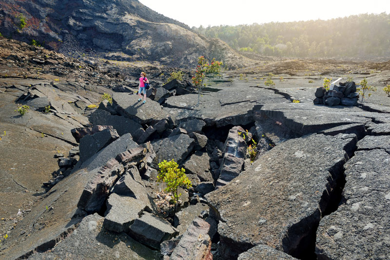 Hiking In Hawaii Volcanos National Park