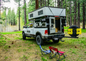 Hawk Truck Camper At The Campground