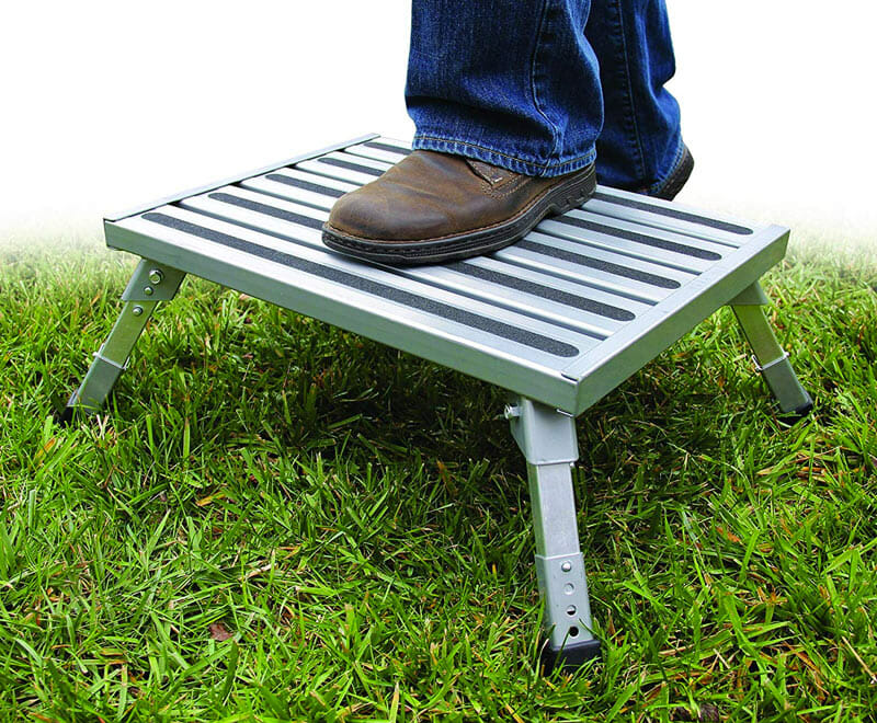 heavy duty rv step