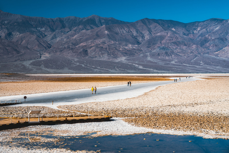 Hiking Badwater Basin In Death Valley National Park
