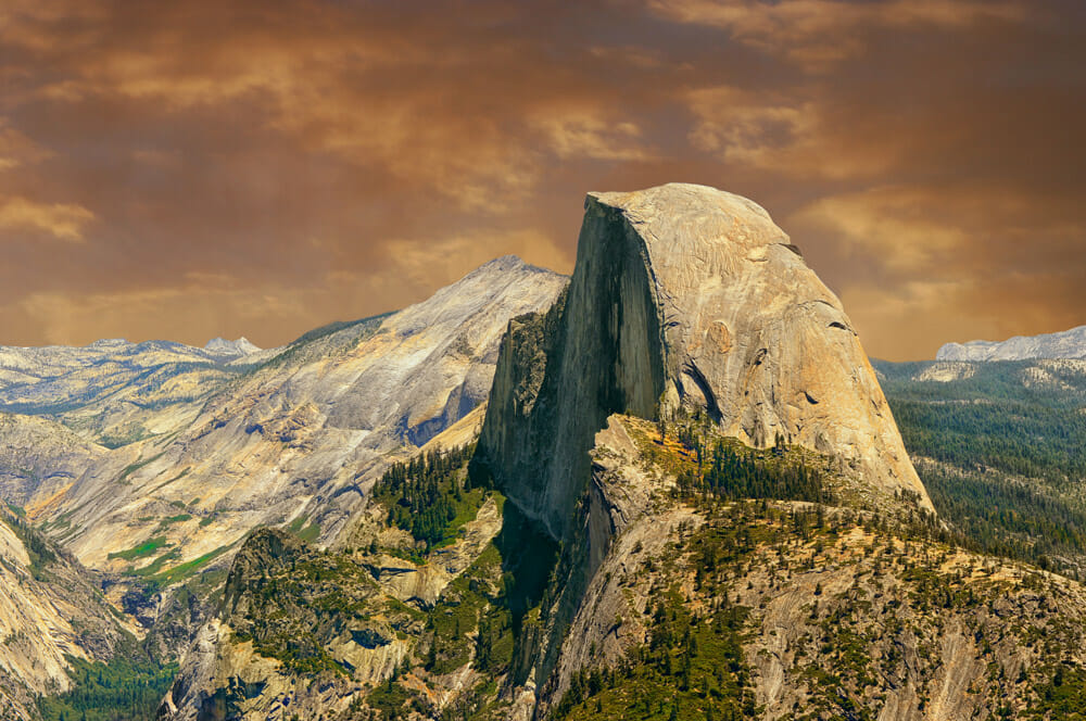 Visiting Yosemite National Park and Hiking up half dome