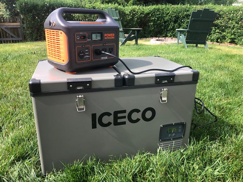 Powering A Portable Fridge Freezer With A Solar Generator