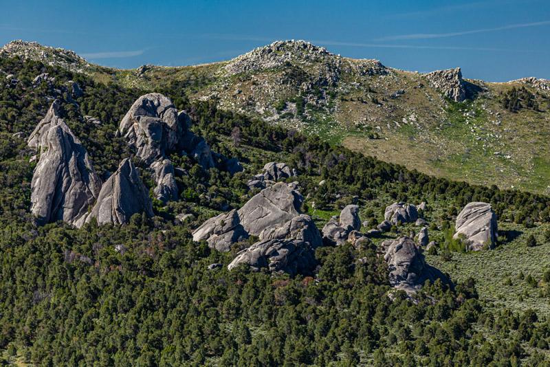 city of rocks national park idaho landscape