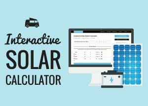 Solar Panel System Size Calculator