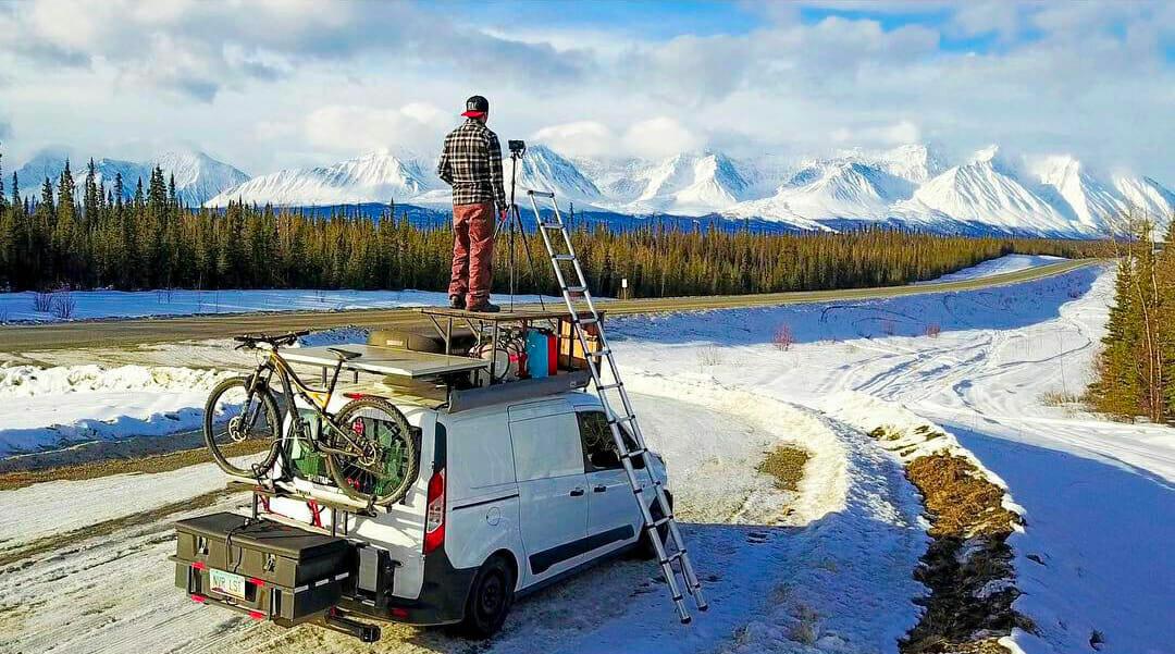 Heating a van with Diesel