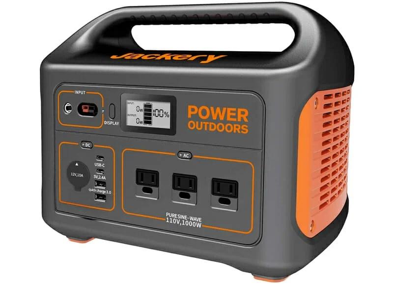 jackery explorer 1000w camping generator