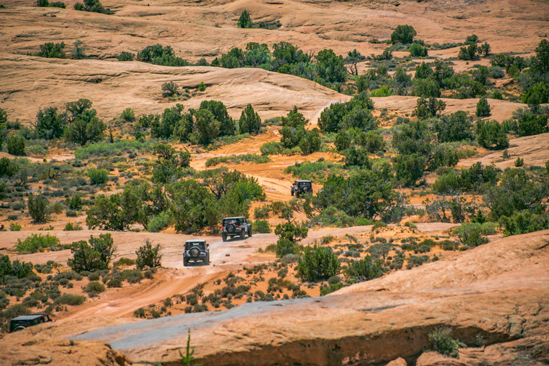 jeeping in glen canyon national recreation area