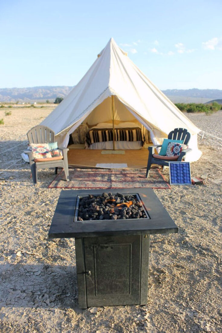 Glamping Campers And Yurt Rentals Near Joshua Tree National Park Private vacation home joshua tree. yurt rentals near joshua tree national park
