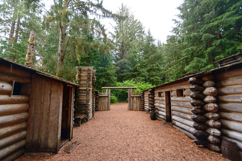 fort clatsop in the lewis and clark national historical park and trail