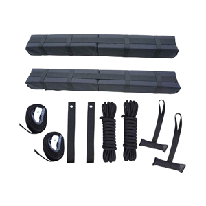 lightweight roof rack temporary kayak pad