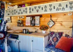 Living In A DIY Campervan Conversion