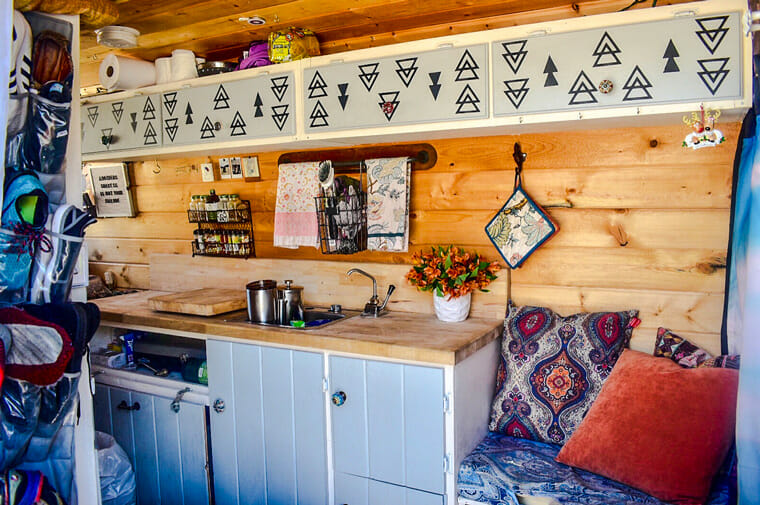 Living In A DIY Campervan Conversion