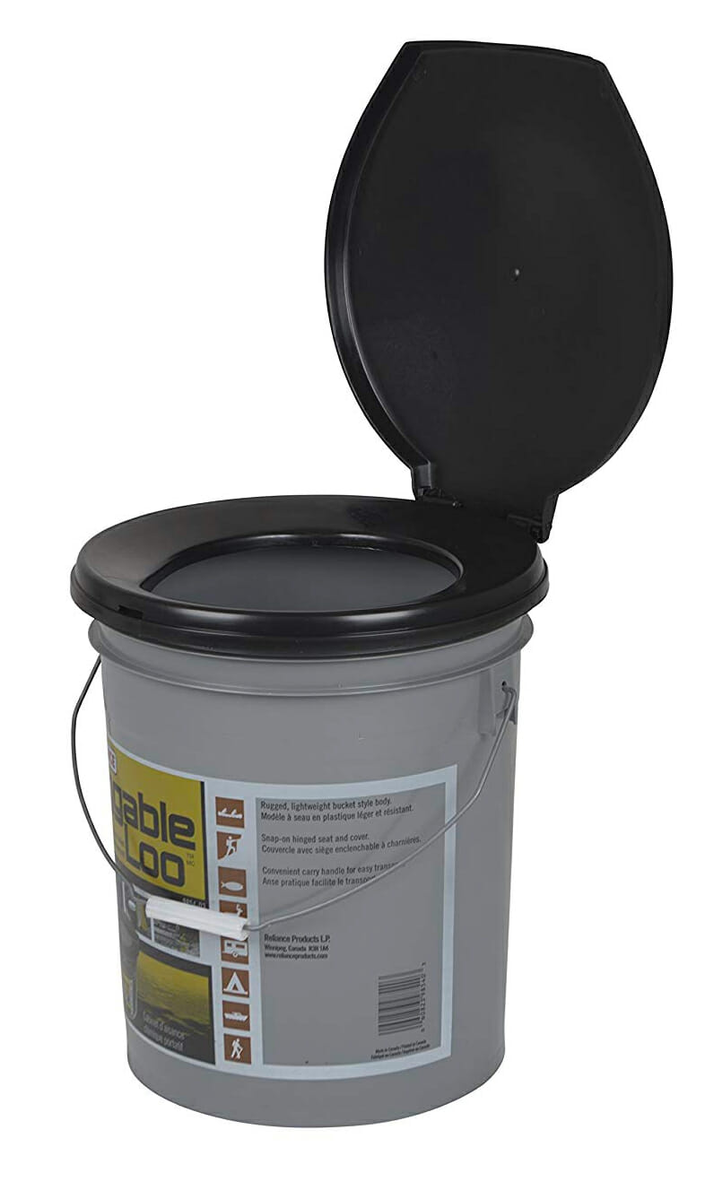 Luggable Loo Portable 5 Gallon Toilet