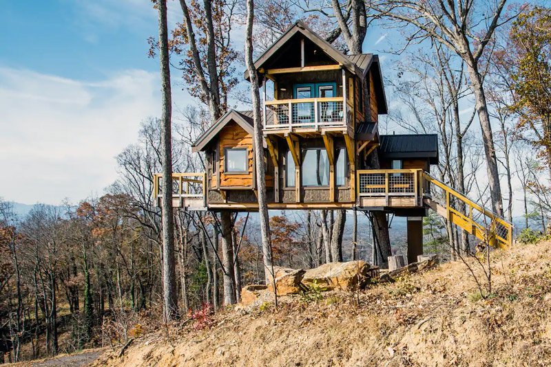 Luxury Camping Rental For A Vacation In North Carolina