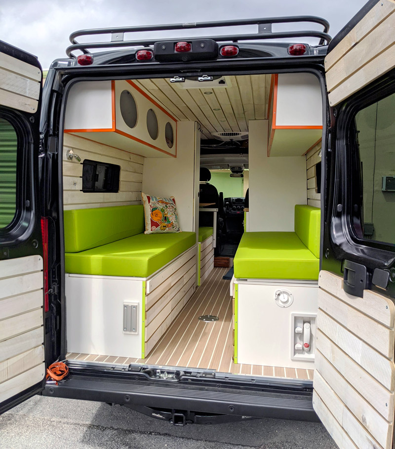 mango vans camper conversion company in florida