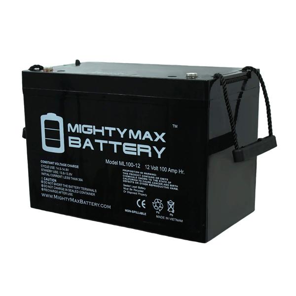 Mighty Max Battery 12V 100AH